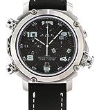 Anonimo Crono Professionale Chronograph Automatic Men's Luxury Watch 6002-prof-blk-white