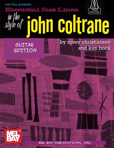 Essential Jazz Lines: In the Style of John Coltrane/Guitar