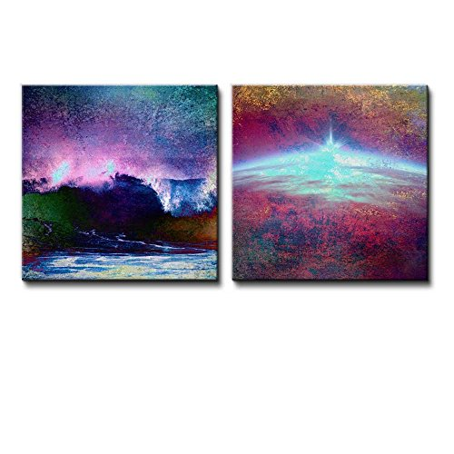 2 Piece View of an Abstract Horizon