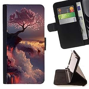 Dragon Case - FOR HTC One M9 - I miss you so muc - Caja de la carpeta del caso en folio de cuero del tir¨®n de la cubierta protectora Shell