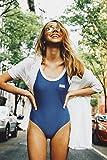 RVCA Women's First Base One Piece Swimsuit, Baja Blue, S
