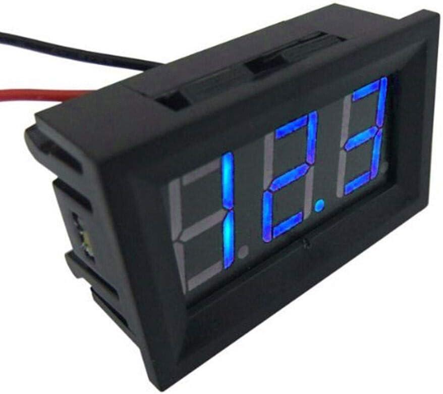 blue ARCELI New 30V LED digital display panel 0.36 inch three-wire voltmeter DC voltmeter digital display display meter digital voltmeter