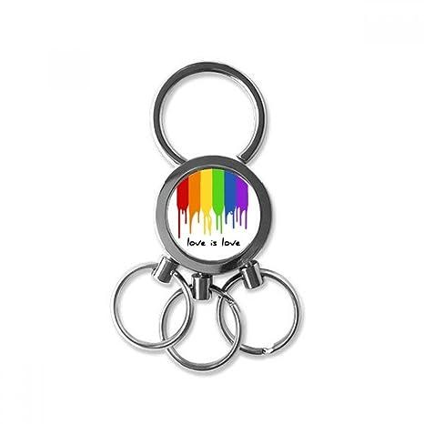 DIYthinker El Amor Es Amor LGBT Regalo Clip para Llaves ...