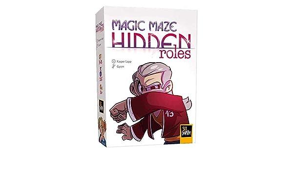 DUDE GAMES Magic Maze: Expansión de Roles Ocultos: Amazon.es: Juguetes y juegos