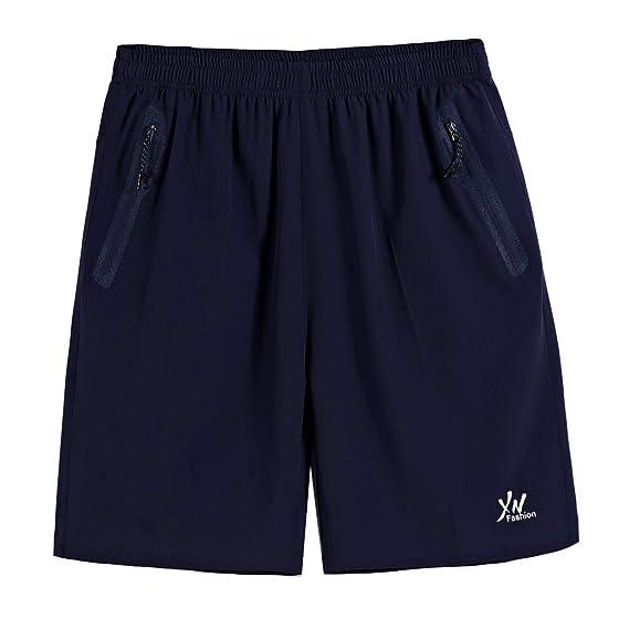 VPASS Pantalones Hombre,Verano Casual Moda Pantalones Tallas ...