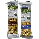 Cascadian Farm Organic Chewy Granola Bars 1.2 oz, Variety Pack (20 ct)