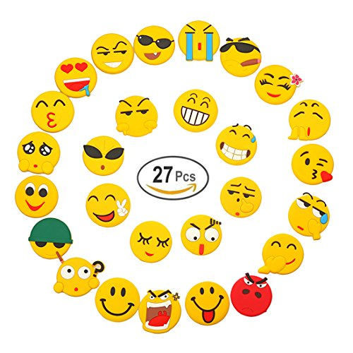 GORLD-Emoji-Fridge-Magnets-27-Pack-Refrigerator-Magnets-with-Funny-Kitchen-Decor-Noticeboard-Office-Supplies-Best-Housewarming-Home-Decorations-Gift