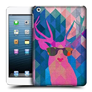 Head Case Designs Deer Geometric Animal Camouflage Protective Snap-on Hard Back Case Cover for Apple iPad mini
