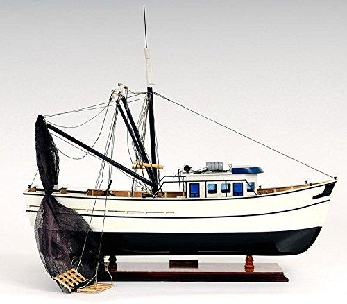 Old Modern Handicrafts Shrimp Boat Collectible