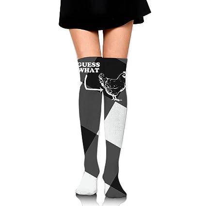 amazon com women s knee high compression thigh high socks guess