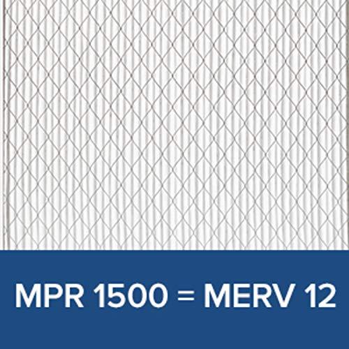 Filtrete 16x25x1, AC Furnace Air Filter, MPR 1500, Healthy Living Ultra Allergen, 2-Pack