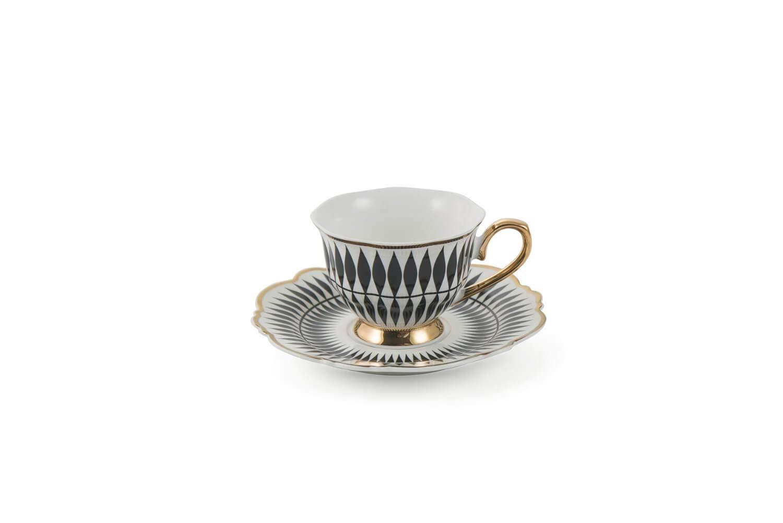 Villa dEste Home Tivoli 2190632 Servizio da caff/è Porcellana