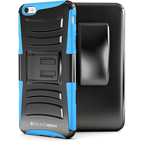 superior quality 8595e b6f63 BUDDIBOX iPhone 6s Case, [HSeries] Heavy Duty Swivel Belt - Import It All