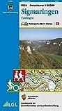 Sigmaringen, Tuttlingen: Karte des Schwäbischen Albvereins (Freizeitkarten 1:50000 / Mit Touristischen Informationen, Wander- und Radwanderungen)