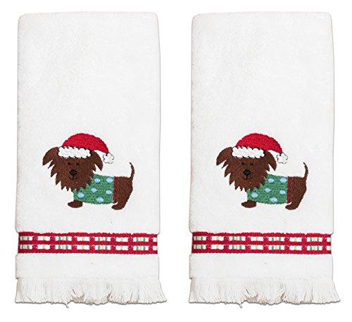 (Dena Santa Pup Fingertip Towel Set)