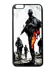 "Battlefield Bad Company 2 Pattern Image Protective iphone 5 5s ("") Case Cover Hard Plastic Case For iphone 5 5s - Inches"