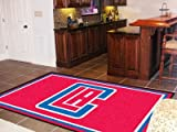 NBA - Los Angeles Clippers 5'x8' Rug-By BlueTECH