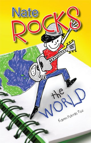 <strong>Nate Isn't Your Typical Ten Year Old! Find Out More About Nate in The Week's Kids Corner Book of The Week FREE Excerpt - Karen Pokras Toz's <em>NATE ROCKS THE WORLD</em> </strong>