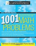 1001 Math Problems, LearningExpress Editors, 1576856860