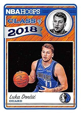 official photos 1376f 9cd57 Amazon.com: 2018-19 NBA Hoops Class of 2018#3 Luka Doncic ...