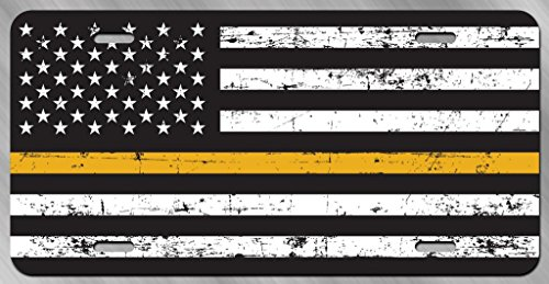Expert choice for thin gold line license plate