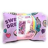 Nickelodeon JoJo Siwa 2 Piece Sleepover Set-Includes Sleeping Bag and Plush Pillow