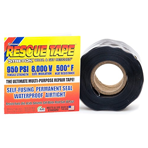 - Rescue Tape | Self-Fusing Silicone Tape | Emergency Pipe & Plumbing Repair | DIY Repairs | Seal Radiator Hose Leaks | Wrap Electrical Wires | Used by US Military | 1
