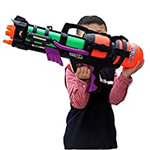 "ZJchao 23"" Large Toy Water Gun Large Air Pressure Long Range Water Fun Super Blaster Soaker Water Pump Water Cannon Water Shooter Water Pistols Gun Sprayer with Strap"