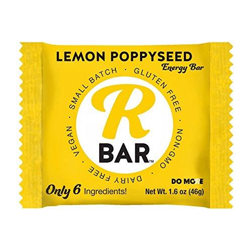 RBar Energy Lemon Poppyseed, 10 Bars