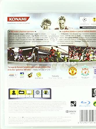 Pro Evolution Soccer 2010 (PES 10): sony playstation3 ...