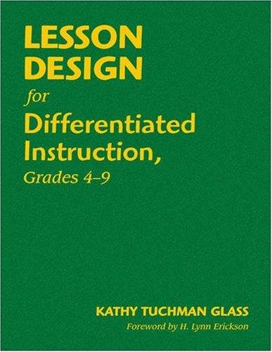 Download Lesson Design for Differentiated Instruction, Grades 4-9 pdf