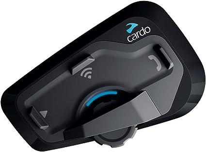 Oferta amazon: CARDO FRC4P001 freecom 4 Plus-Sistema de comunicación Bluetooth de Motocicleta de 4 vías con operación de Voz Natural, Sonido de jbl (Paquete único), negro, Individual