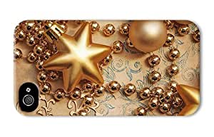 Hipster carrying iPhone 4 cases golden decoration PC 3D for Apple iPhone 4/4S