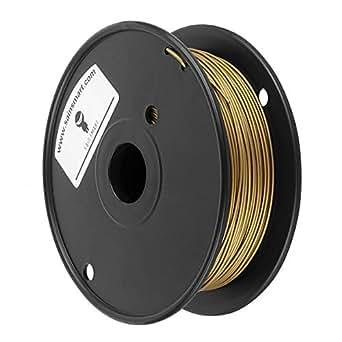 SainSmart Metal-Bronze-1KG1.75 Bronze Metal 1.75 mm Filament for 3D Printing, 0.5 kg/1.1 lb.
