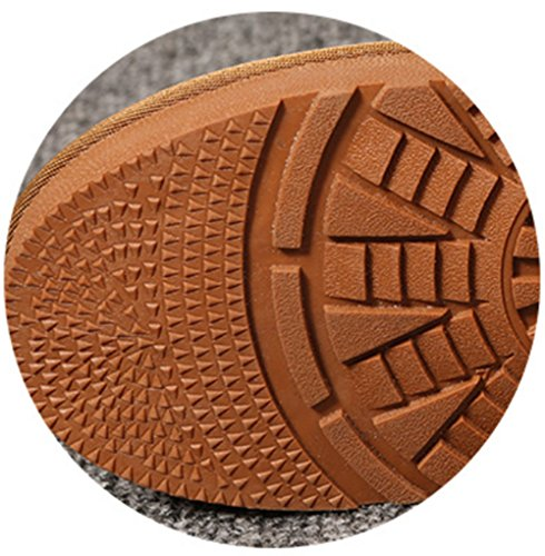 le maroon alta ad plus Snow per scarpe caldo resistente tubo scrub mantenere bassa scarpe velluto indossare il Boots pattino di qCCHwnT6xp