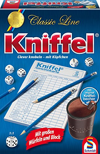 Kniffel (gr. Würfeln & Block) [German Version]