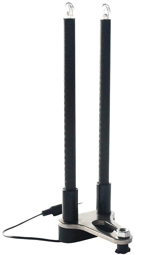 BAT-Tackle/Illuminated LED Snag Ears Dreierpack