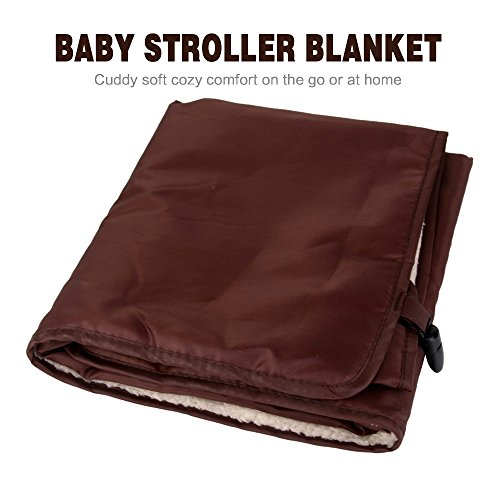 HILTOW Baby Comfort Stroller Weather Shield/Waterproof Stroller Warm Blanket Cover fit winter by Hiltow (Image #1)