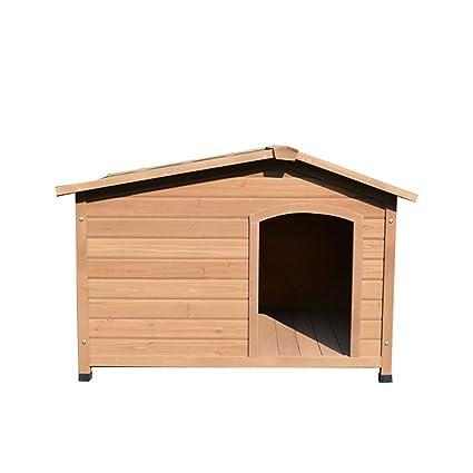 YHJM - Perrera de Madera Maciza para Perro, casa de Perro, casa de Perro