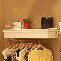 Blanco + Oro Rosa Acero Inoxidable Perchero de Pared/Stand ...