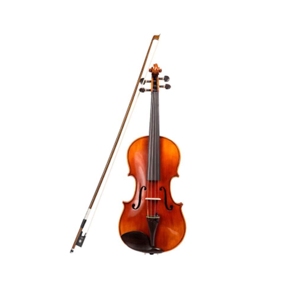 メープルバイオリン大人のプロのバイオリンバンド演奏のバイオリン子供の楽器の贈り物 バイオリンケース (Color : Red4/4)  Red4/4 B07SMNSFQQ