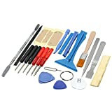 iphone 3g repair kit - 【The Best Deal】OriGlam 22 in 1 Professional Safe Opening Pry Tool, Mobile Phone Repair Screwdrivers Sucker Hand Tools Kit with Non-Abrasive Nylon Spudgers for iPhone, Smart Cell Phone, Laptop