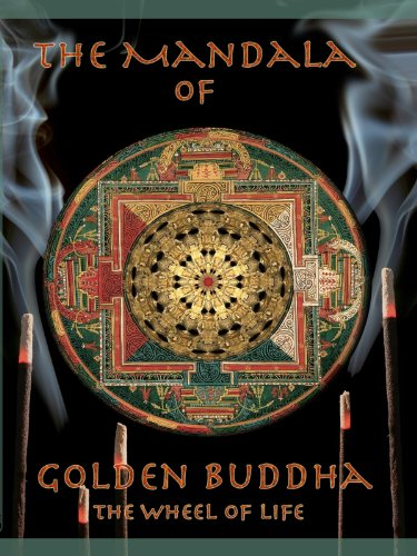 Amazon Com Mandala Of Golden Buddha The Wheel Of Life