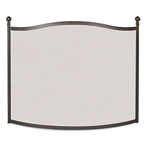 NAPA FORGE Pilgrim Home and Hearth 18297 Ball and Claw Fire Screen