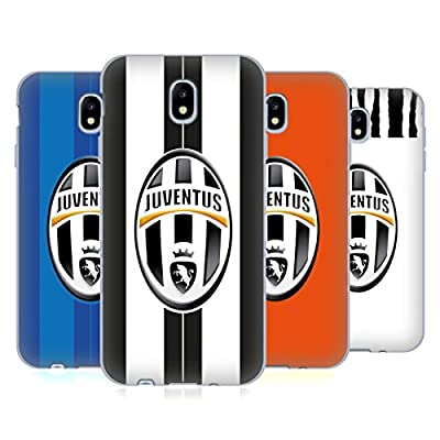 Official Juventus Football Club Match 2016/17 Kit Soft Gel Case for Samsung Galaxy J7 2017 / Pro