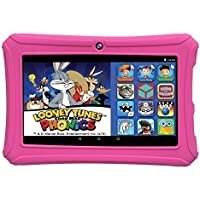 Epik Learning Kids Tablet, 7 Capacitive Touchscreen Tablet Featuring Android 5.0, Google Mobile Services and Looney Tunes Click