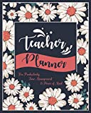 img - for Teacher Planner: For Productivity, Time Management & Peace of Mind (2019 PLANNER | MARCH 2019 TO DECEMBER 2019) book / textbook / text book