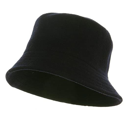 Rasta NYE Wool Bucket Hat with Stitches-Navy at Amazon Men s Clothing  store  Mens Wool Bucket Hat 36b1a07b5d33