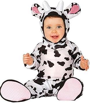 Bebé Niña Niño Vaca Granja Farmyard Animal Día del Libro Halloween ...