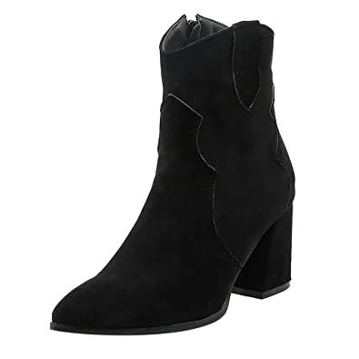 Ankle Boots Shoes Womens Heels